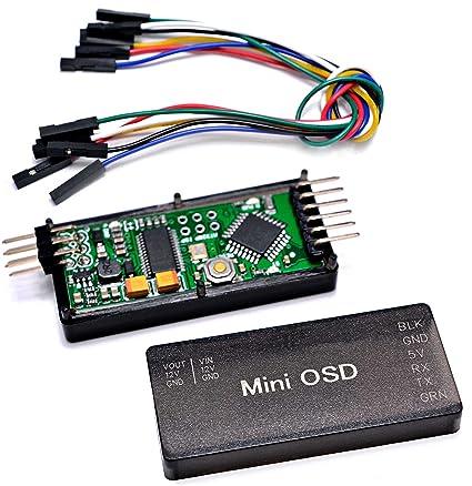 FPVDrone MinimOSD On Screen Display Minim MAVLink OSD for APM 2 6 APM 2 8  Flight Controller Board