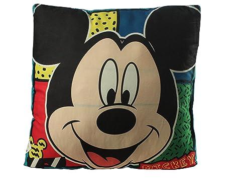Diakakis 0561688 cojín Reversible en poliéster bajo Licencia Mickey Mouse – Dimensiones 35 x 35 cm poliéster, 35 x 10 x 35 cm
