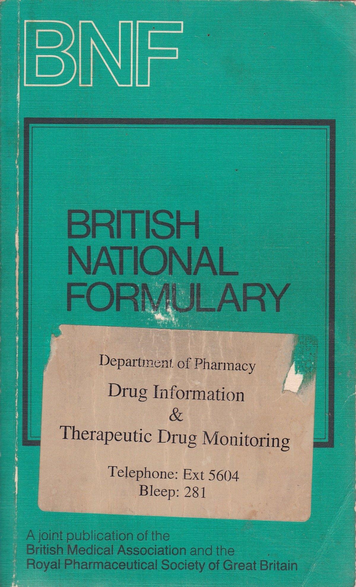 British National Formulary (BNF) 27: Joint Formulary Committee:  9780853692577: Amazon.com: Books