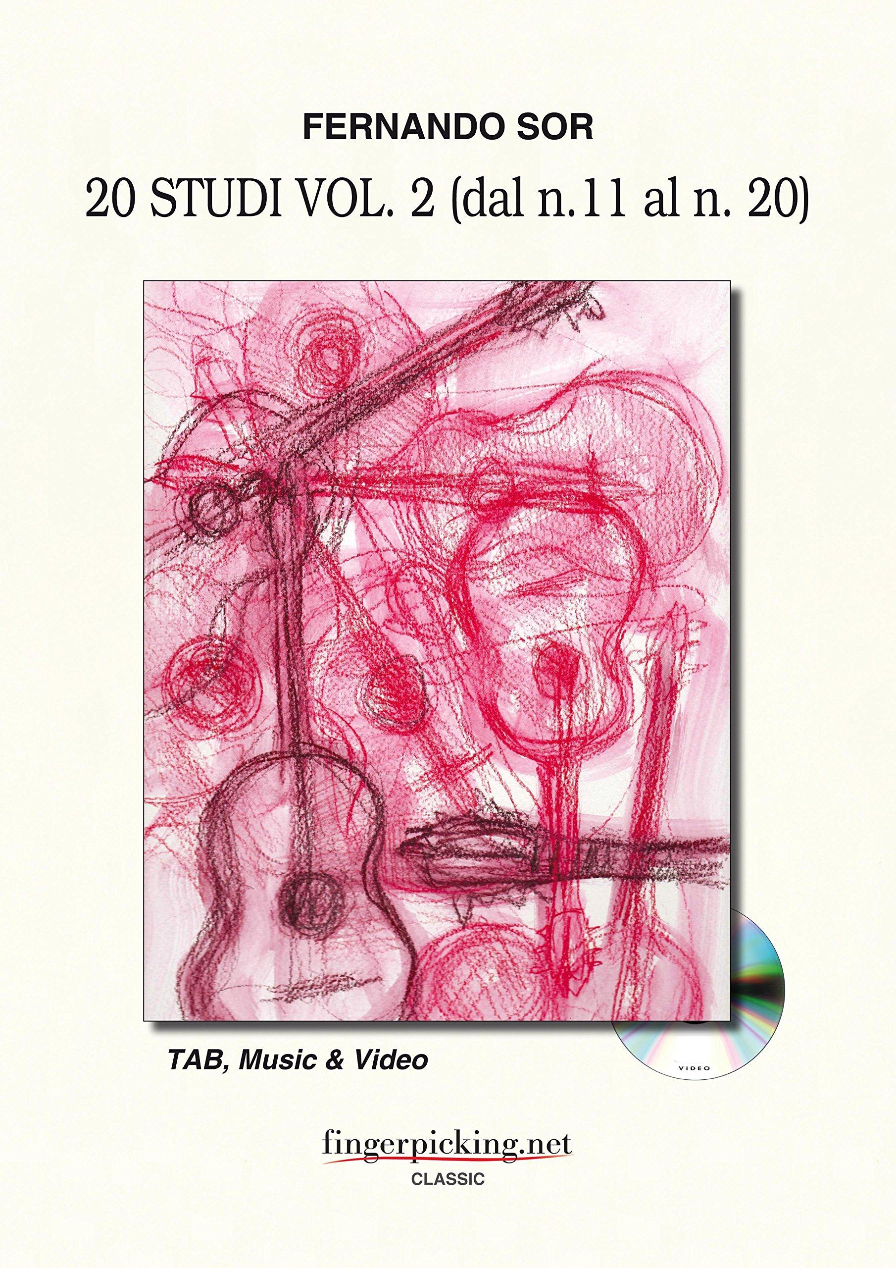 Download Fernando Sor: Studies Vol. 2 (from 11 to 20) PDF