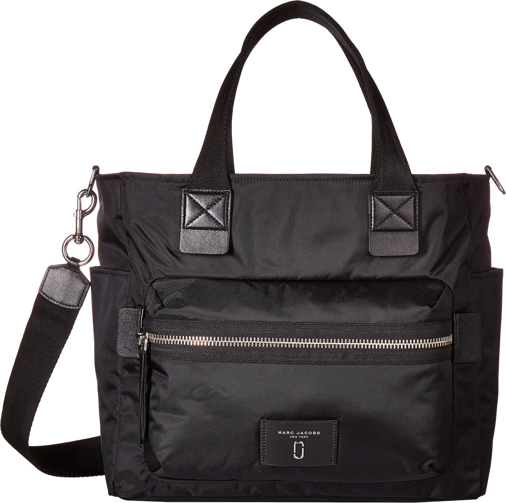Marc Jacobs Women's Nylon Biker Baby Bag, Black, One Size