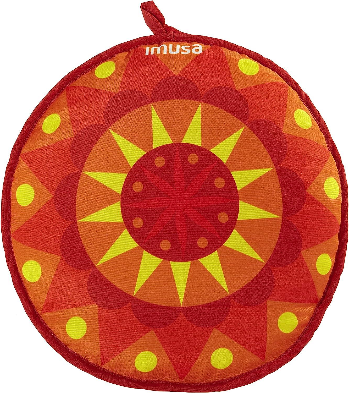 IMUSA USA MEXI-10004 Chili Pepper Tortilla Warmer 12-Inch Yellow//Red//Orange