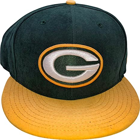 classic fit 5ac94 557b9 Image Unavailable. Image not available for. Color  New Era Green Bay  Packers 9FIFTY Adjustable Snapback Hat