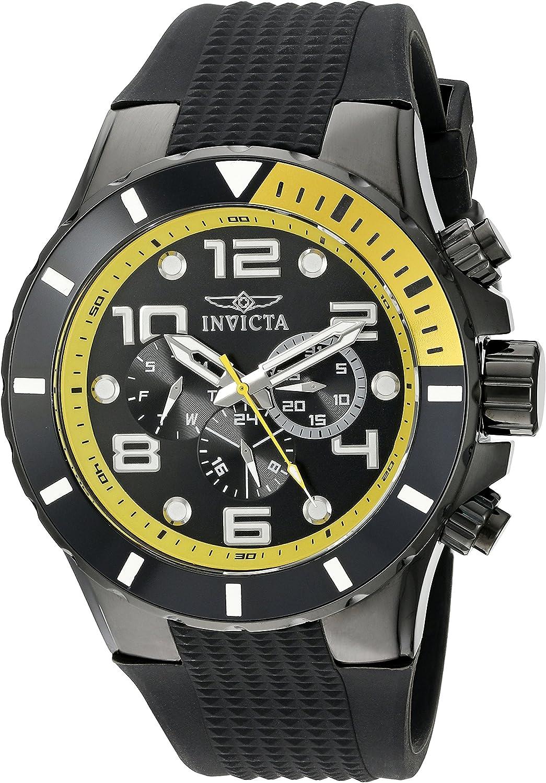 Invicta Men s 18741 Pro Diver Analog Display Swiss Quartz Black Watch