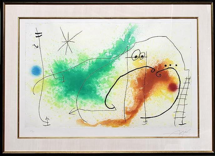 Amazon.com: Partie de Campagne IV: Joan Miro: Fine Art