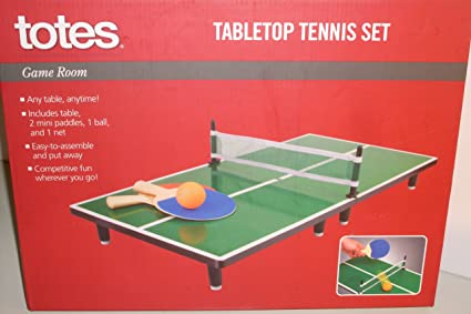Image Unavailable. Image not available for. Color Tabletop Tennis Set & Amazon.com : Tabletop Tennis Set : Tabletop Table Tennis Games ...