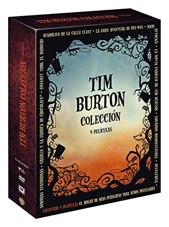 Pack Tim Burton [DVD]: Amazon.es: Johnny Depp, Michelle Pfeiffer ...