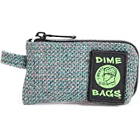 Dime Bags Padded Pouch with Soft Padded Interior | Protective Hemp Pouch for Glass with Removeable Smell Proof Bag (Aqua…
