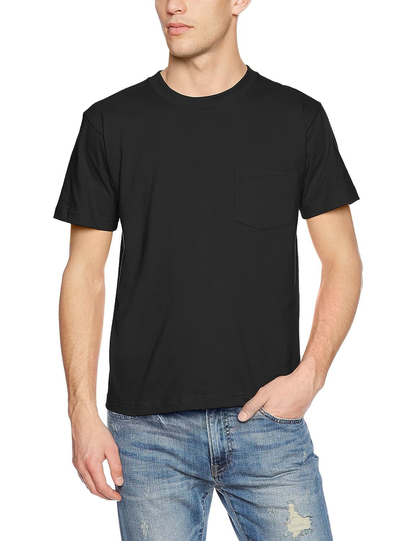 『ヘインズ』BEEFYクルーネックポケット付 Tシャツ 画像