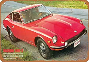 "3 PCS 8"" x 12"" Metal Sign - 1970 Datsun 240-Z - Vintage Look"