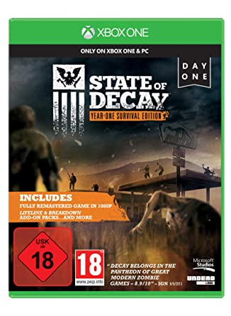 State Of Decay Xbox One Amazonde Games