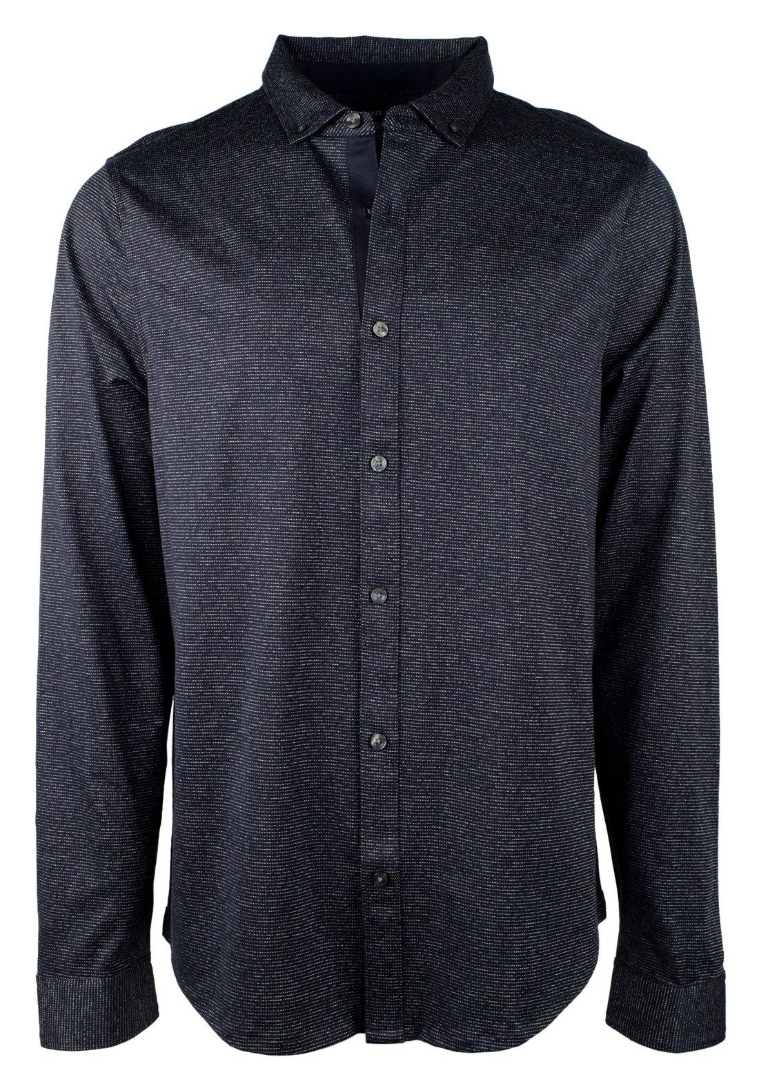 Michael Kors Men's Abstract Patterned Cotton Shirt-M-XXL