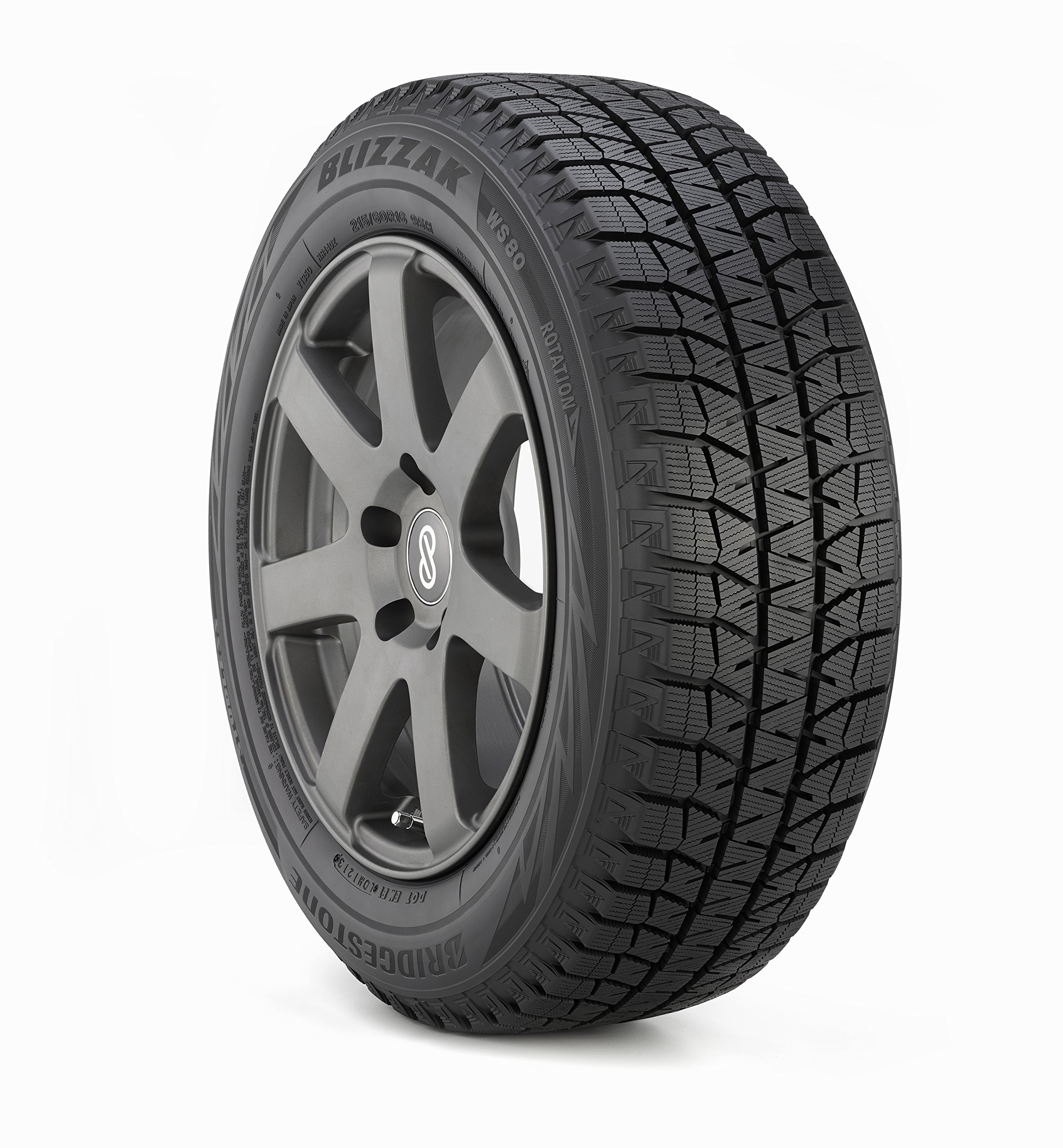 Bridgestone Blizzak WS80 Winter Radial Tire - 175/65R15 84H