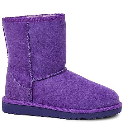 UGG Kids Classic Boot Electric Purple Size 4 M US Big Kid