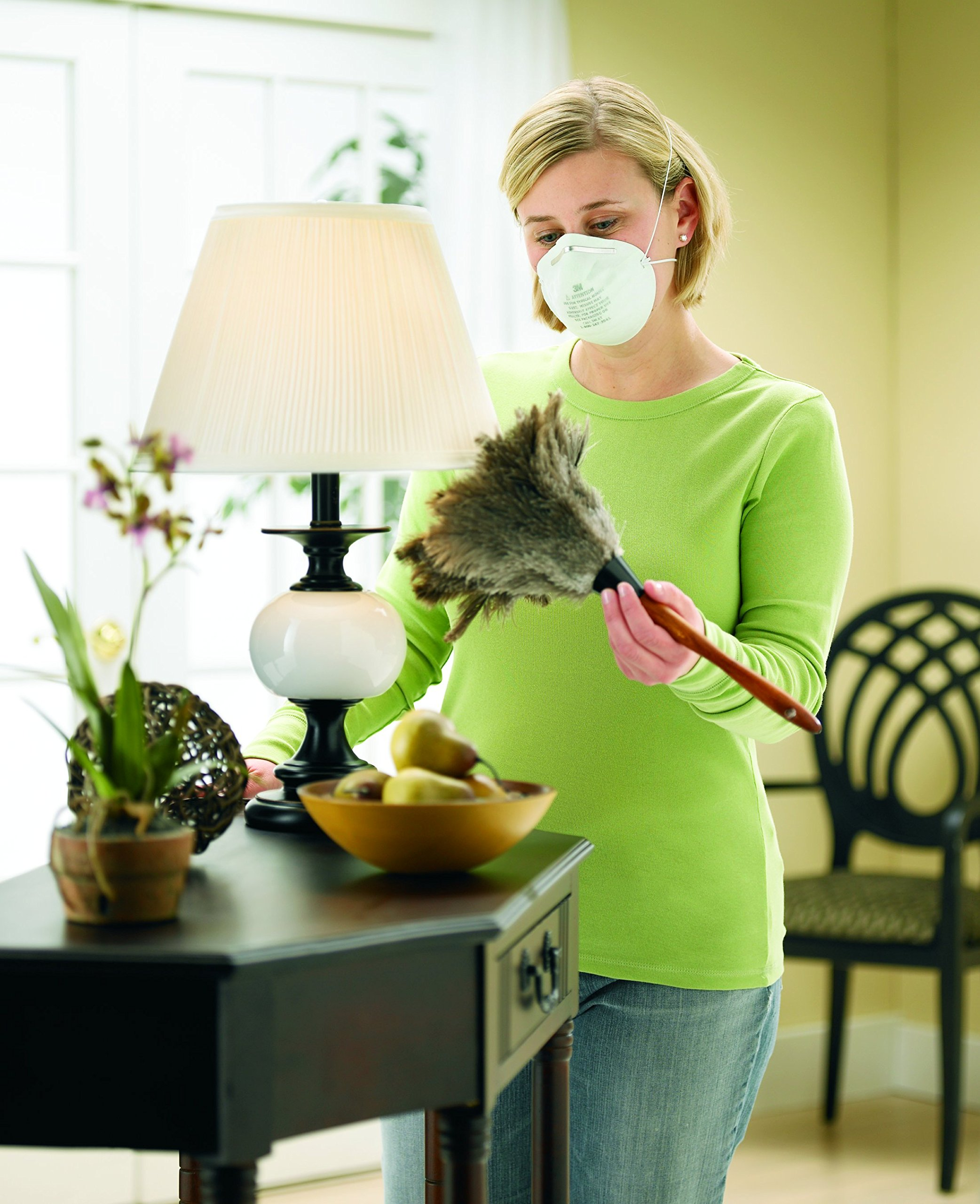 3M 8661PC1-A Home Dust Mask, 5-Pack 3