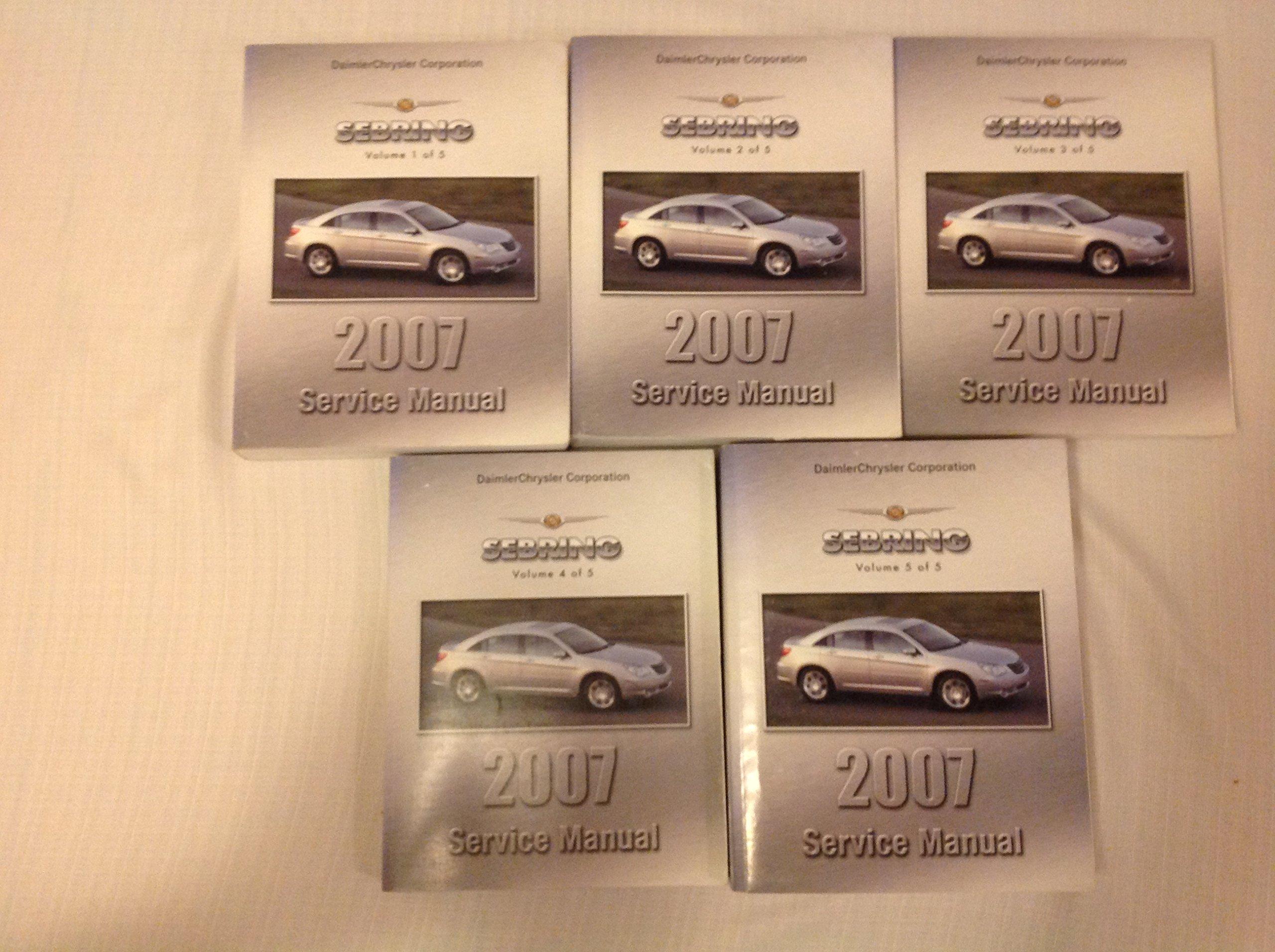 Other Car Manuals **NEW** 2007 Chrysler Sebring Sedan Owners ...