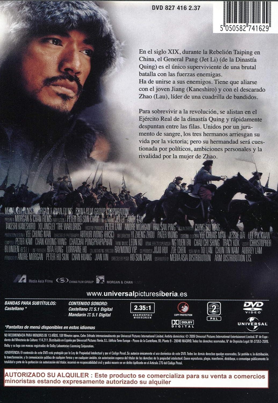 The Warlords Los Señores De La Guerra Amazon Es Peter Chan Wai Man Yip Jet Li Andy Lau Cine Y Series Tv