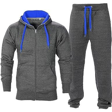 Kleidung & Accessoires Herren Fitnessstudio Contrast Jogging Trainingsanzug Kapuzenpullis Top Online Shop Vintage-mode Für Herren