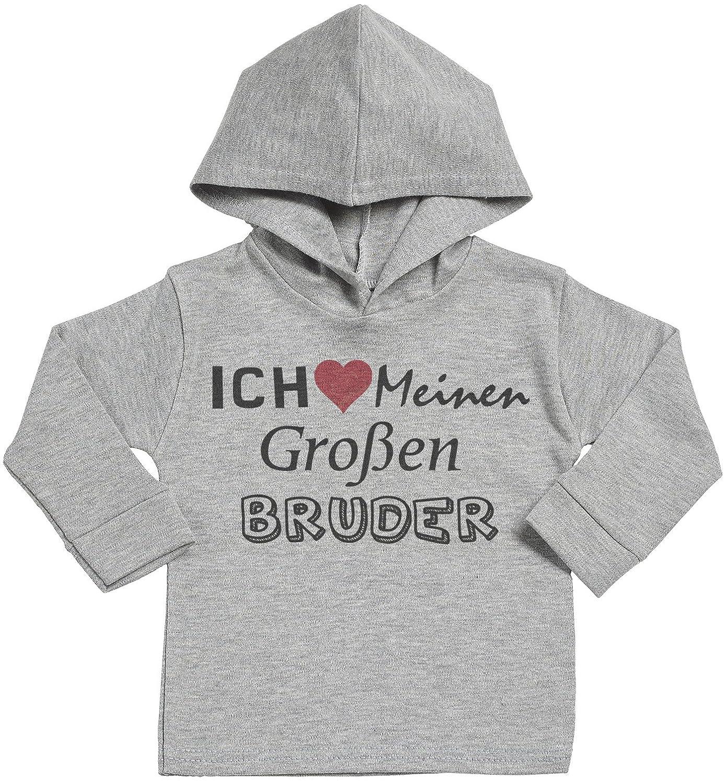 Spoilt Rotten SR - Ich Meinen Groß en Bruder Baby Weicher Kapuzenpully Pullover DEMD55_H