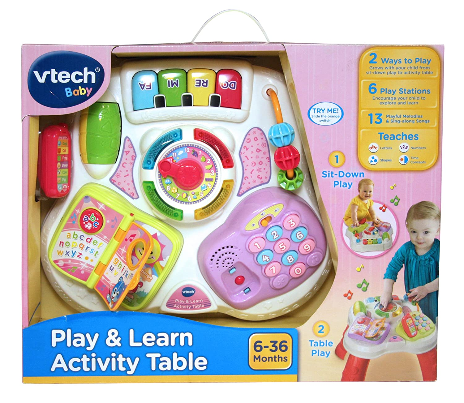 VTech – Play & Learn Activity Table – Musikalischer Spieltisch