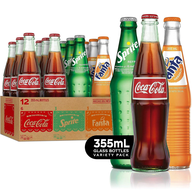 soda in glass bottles
