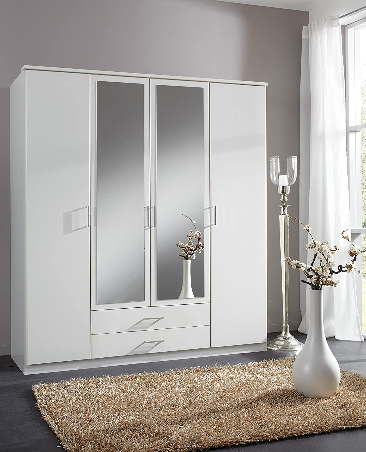 cherry door p armoire wardrobe for home cabinet storage htm office bedroom or living white room