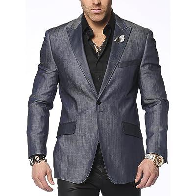 Men's Denim Sports Jacket Santo Blue