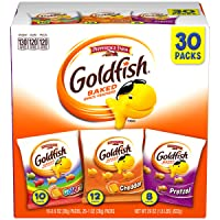Pepperidge Farm Goldfish Classic Mix Crackers, 29 oz. Variety Pack Box, 30 Count...
