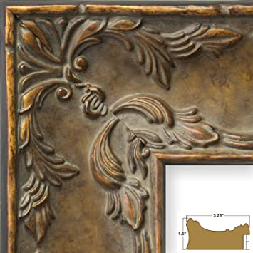 Amazon.com - Craig Frames Renaissance, Antique Gold French Country ...