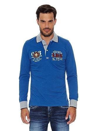 Pepe Jeans London Polo Hector Azul XL: Amazon.es: Ropa y accesorios