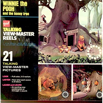 GAF Talking View-Master Reel Winnie the Pooh and the Honey Tree: Toys & Games