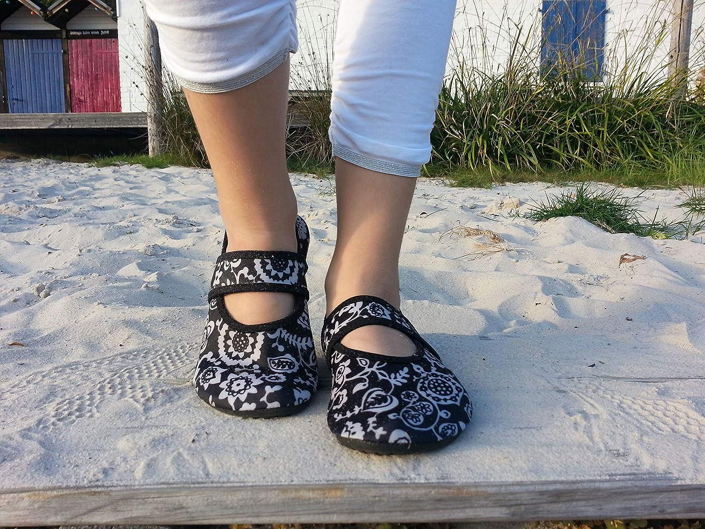 Strandschuhe Badeschuhe Vielseitig einsetzbare Minimalschuhe aus Neopren Wasserschuhe WeWee Die gesunden Allround-Barfußschuhe Damen