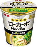 明星 低糖質麺 ローカーボNoodles 鶏白湯 53g×12個