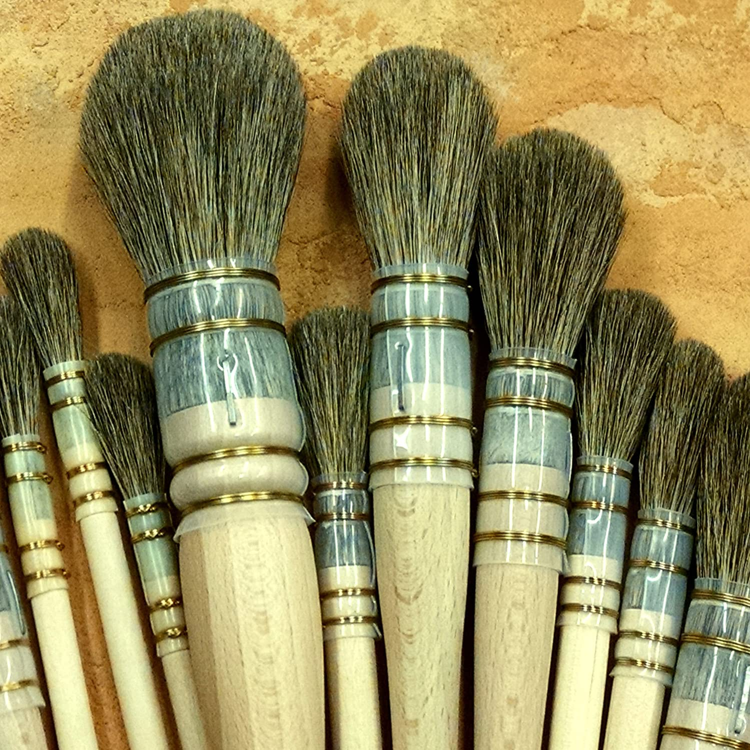 Handover French Polish Mops Acetate Quill (#2 - approx 6mm)