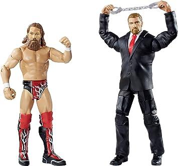 WWE Battle Pack Daniel Bryan vs. Triple H Figuras: Amazon.es: Juguetes y juegos