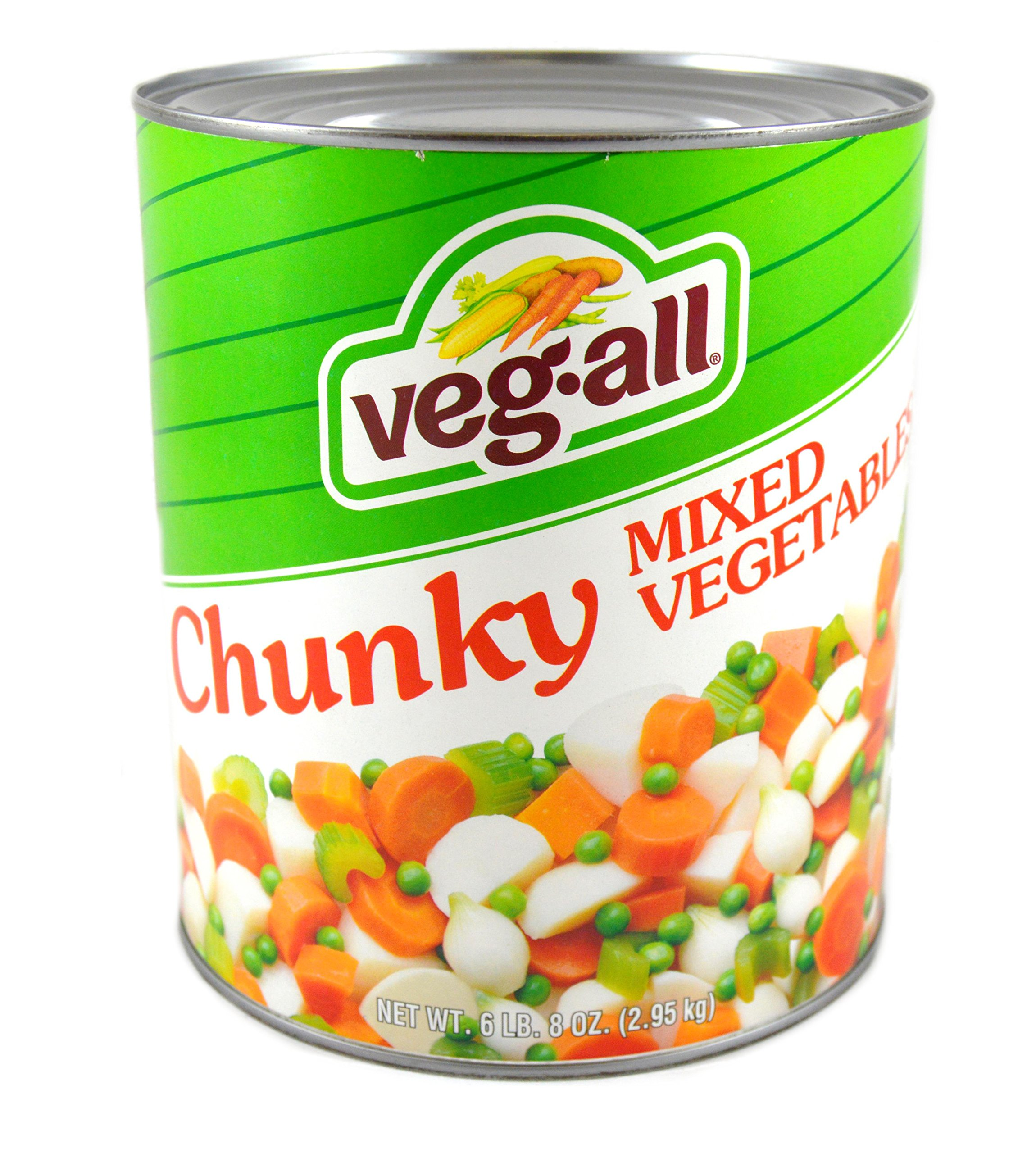 Veg-All Mixed Vegetables for Stews - no. 10 can, 6 cans per case