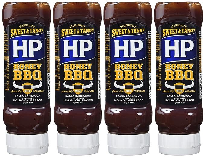 HP Salsa Barbacoa Dulce - 465 gr - [Pack de 4]: Amazon.es: Alimentación y bebidas