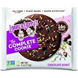 Lenny & Larry's Chocolate Donut Complete Cookie 12 Bars, 1.356 kilograms