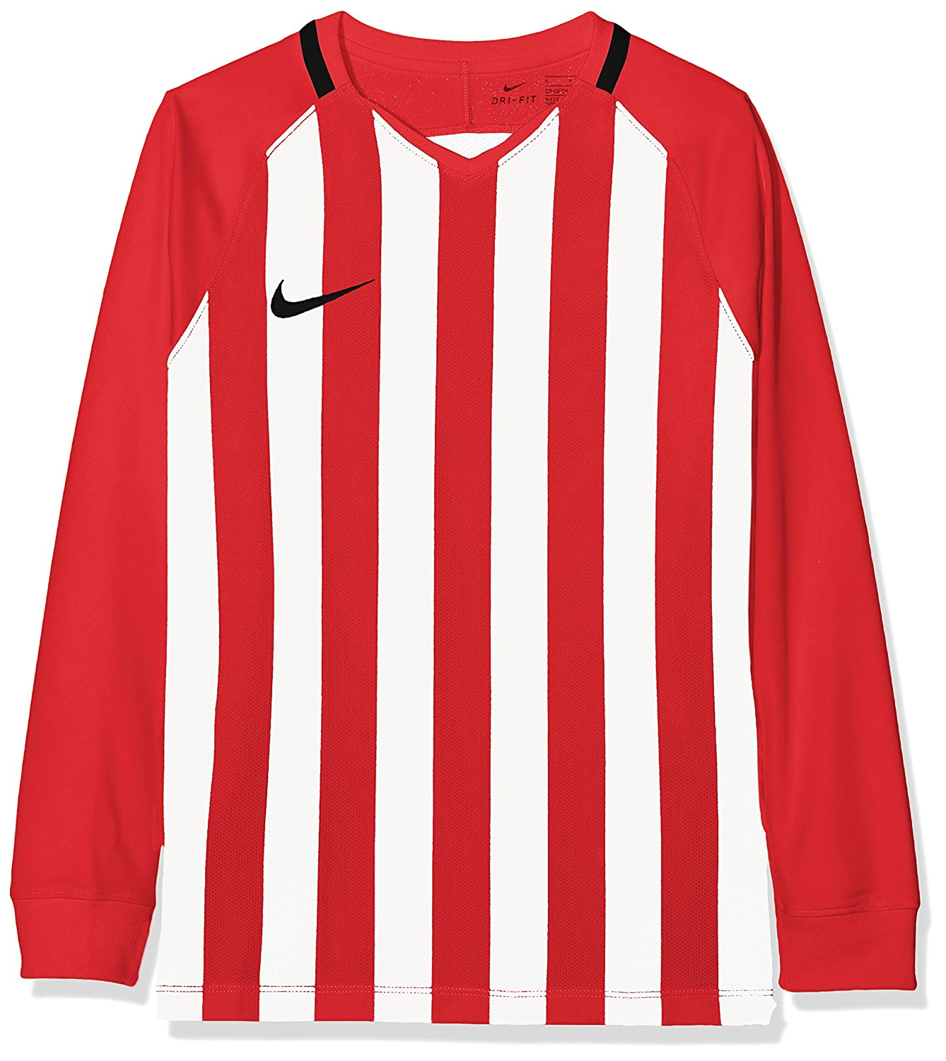 75af66454e01 Nike Unisex Youth Striped Division III Long Sleeve Top  Amazon.co.uk   Sports   Outdoors