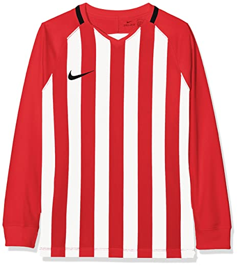 0ac90096e0f8 Nike Unisex Youth Striped Division III Long Sleeve Top  Amazon.co.uk ...
