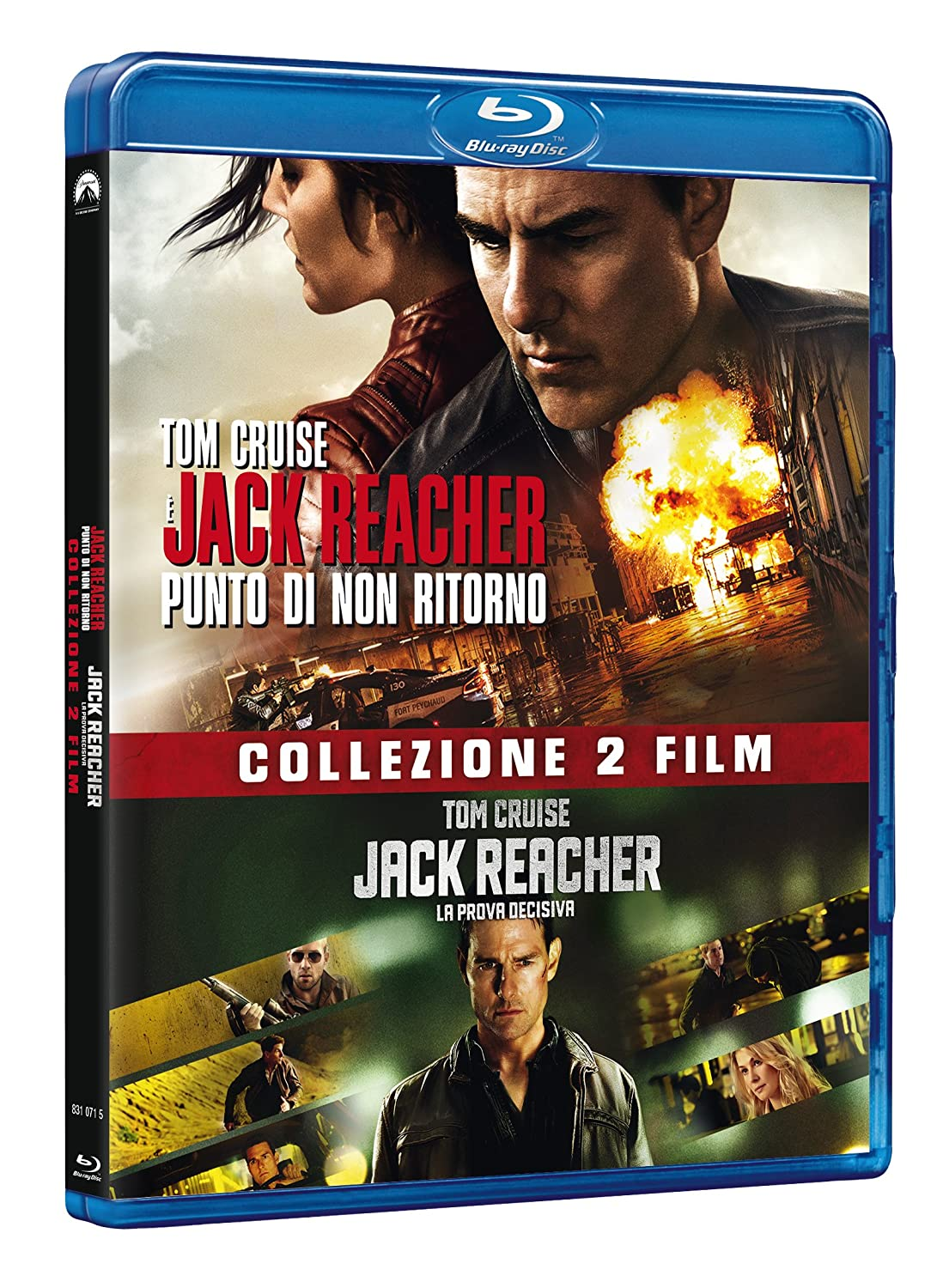 Jack Reacher Collection 1&2 2 Blu-Ray Italia Blu-ray: Amazon.es: Tom Cruise, Robert Duvall, Werner Herzog, Richard Jenkins, Joe Kraemer, Rosamund Pike, Cobie Smulders, Christopher Mcquarrie, Edward Zwick, Tom Cruise, Robert Duvall: Cine