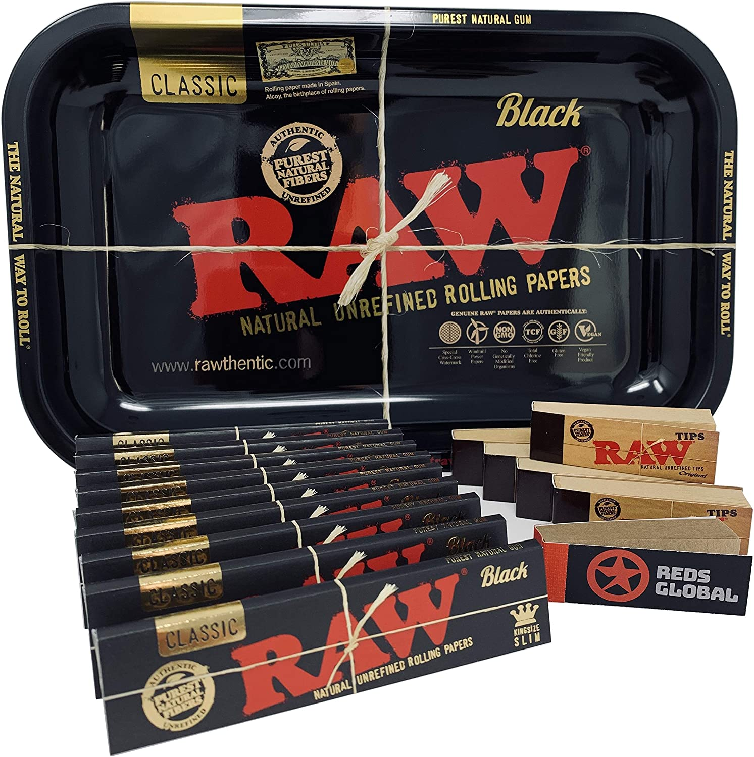 REDS EXCLUSIVO PACK BANDEJA RAW BLACK