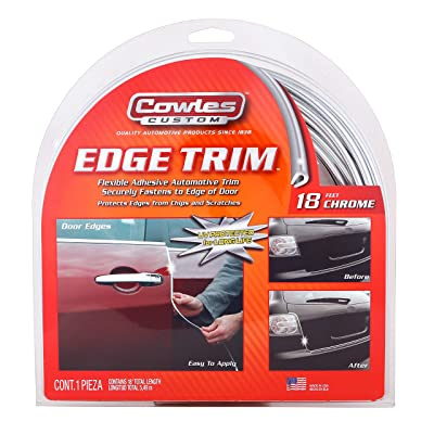 Cowles T5605 18ft Chrome Edge Trim: Automotive
