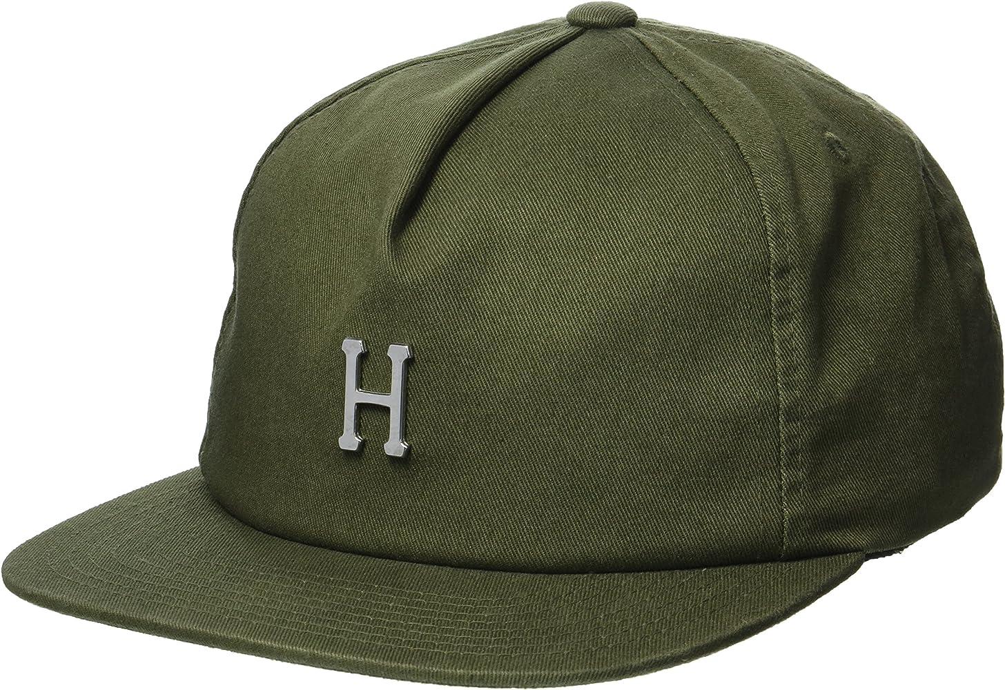 HUF Gorra Washed Metal H Strapback de Beisbol (Talla única - Verde ...
