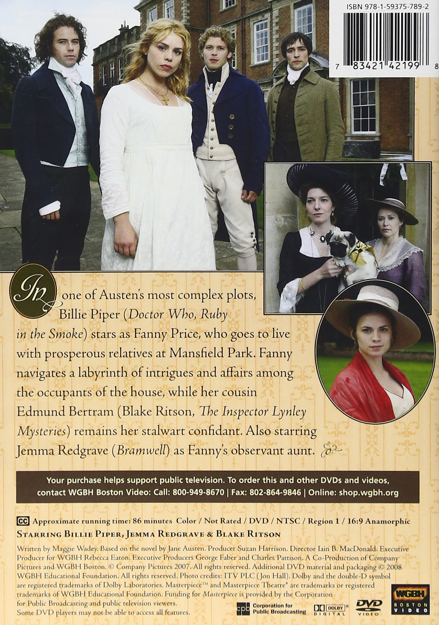 Masterpiece Theatre: Mansfield Park by Wgbh / Pbs