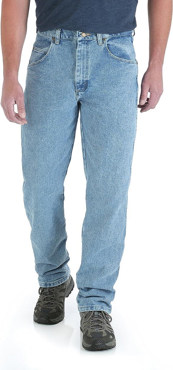 Wrangler Pantalon De Jean Ajuste Holgado Grande Tiro Alto Resistente Al Desgaste Para Hombre Amazon Com Mx Ropa Zapatos Y Accesorios