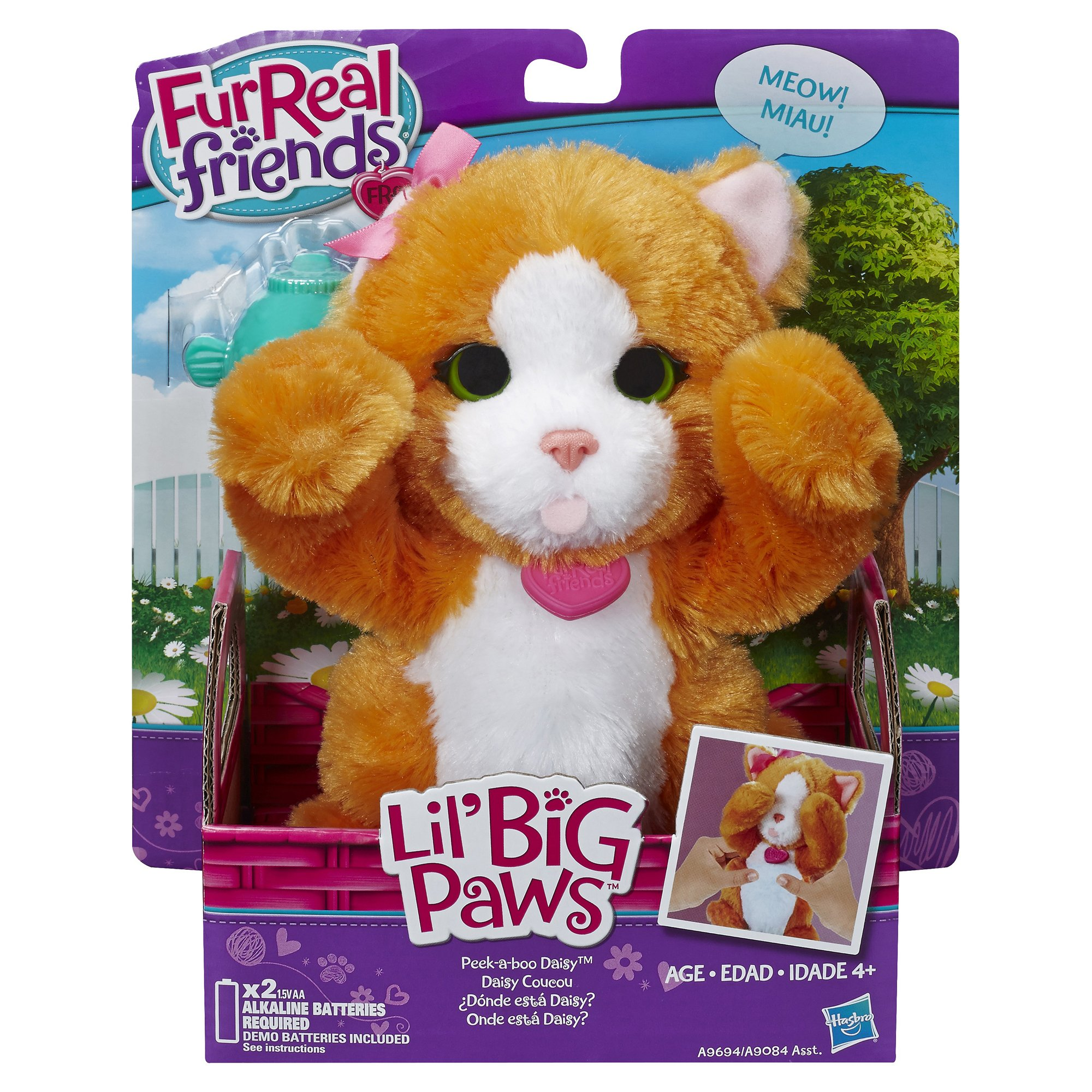 FurReal Friends Li'l Big Paws Peek-a-boo Daisy Pet by FurReal (Image #2)