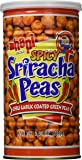 Hapi Snacks - Spicy Sriracha Peas - Chili Garlic Coated Green Peas (Net Wt. 9...