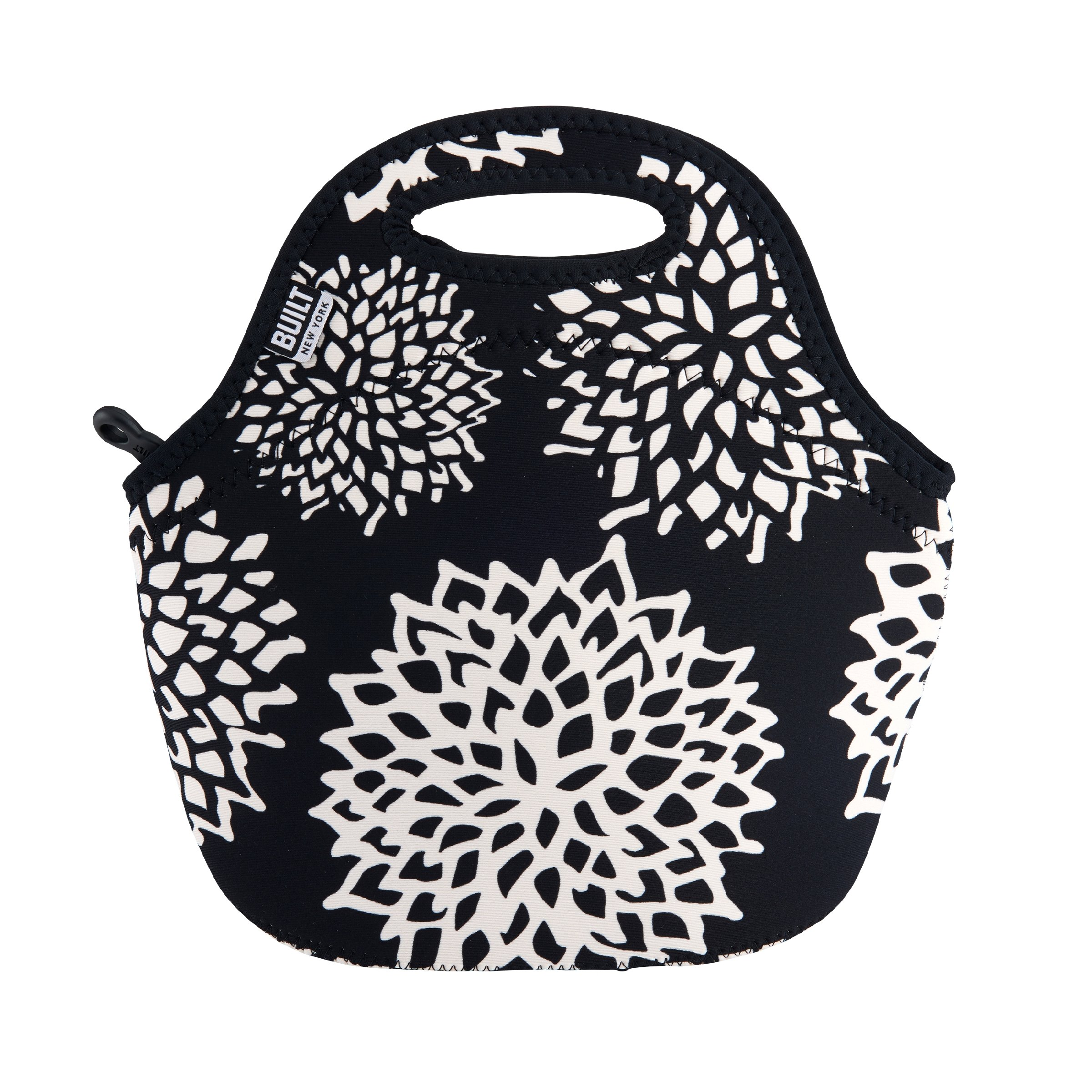 Built NY LB31-DLA Gourmet Getaway Reusable Insulated Neoprene Lunch Tote, Dahlia
