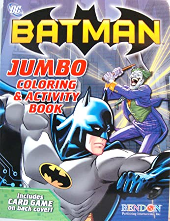 batman coloring activity book - Batman Coloring Books